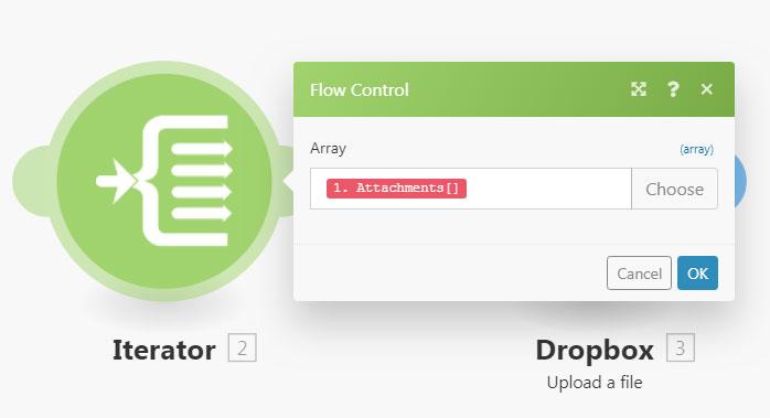 Iterator – Integromat Support