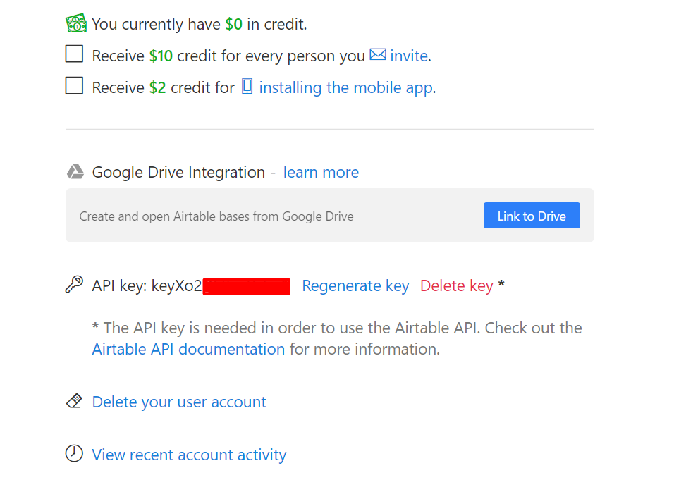 How to connect Airtable and Google contacts and synchronize contacts