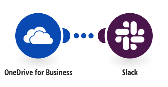 Send Slack messages for new OneDrive for Business files