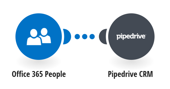 Add new Office 365 contacts to Pipedrive CRM as people