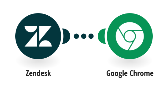 Send push notification via Google Chrome for new tickets in Zendesk