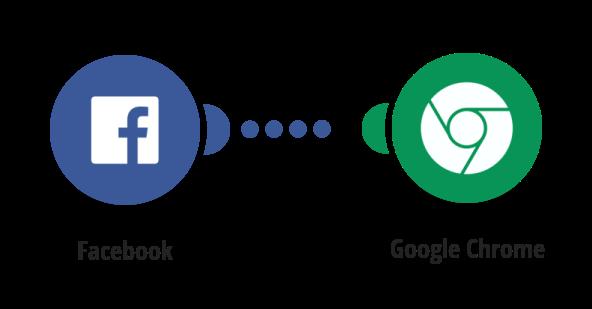 Zaslání notifikace přes Google Chrome o novém příspěvku na Facebooku