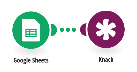 Create Knack records from new Google Sheets rows