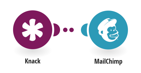 Add new Mailchimp subscribers from Knack