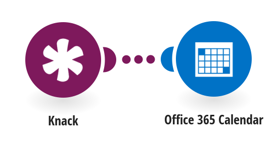 Create Office 365 Calendar events from new Knack records