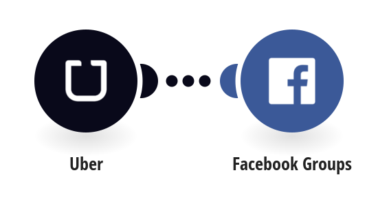 Post new Uber trips to Facebook