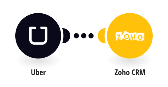 Add new Uber trips to Zoho CRM as new events