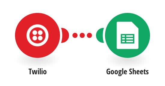 Add Twilio SMS messages to Google Sheets as new rows