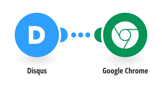 Send push notifications via Google Chrome for new Disqus comments