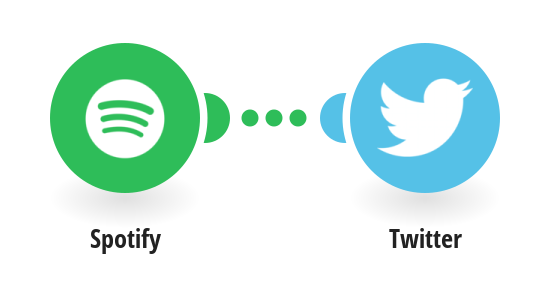 Tweet your new Spotify saved tracks