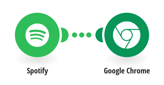 Send push notifications via Google Chrome when a new track is added to a Spotify playlist