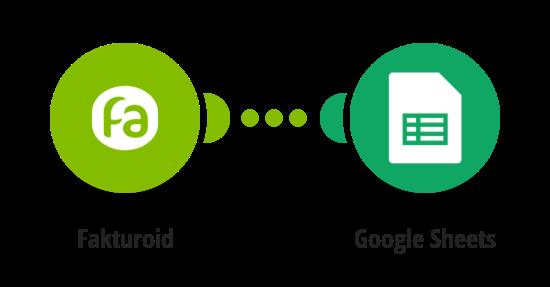 Přidání nového kontaktu z Fakturoidu do Google tabulky