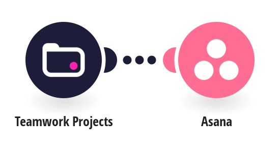 Create Asana projects from new Teamwork projects