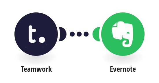 Add new Teamwork tasks to Evernote as notes