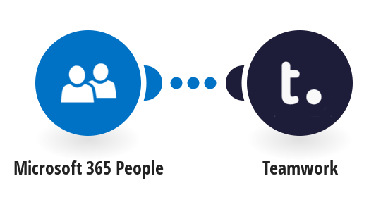 Add new Office 365 contacts to Teamwork as people