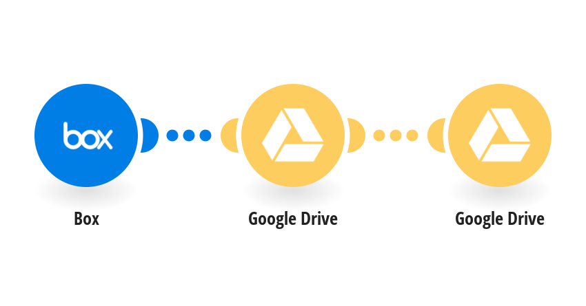 When a file is deleted in Box, delete the same named file in Google Drive