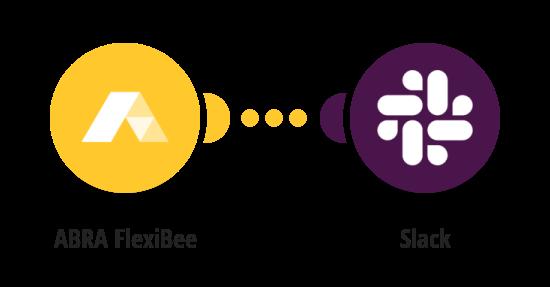 Zaslání zprávy na Slack o nové přijaté pohledávce veFlexiBee