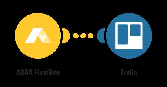 Vytvoření karty v Trellu s údaji o novém majetku ve FlexiBee