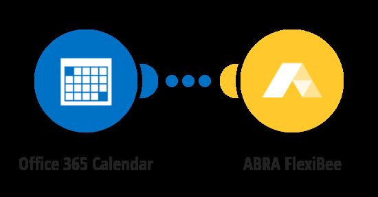Vytvoření nové události ve FlexiBee z nové události v Office 365 Kalendáři