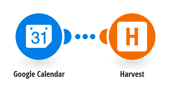 Create time entries in Harvest from new events in Google calendar