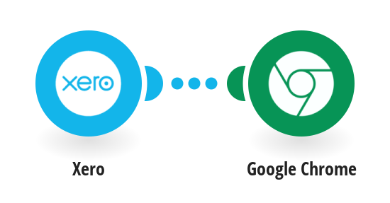 Send Google Chrome push notifications for new Xero bank transactions
