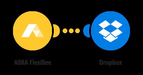 Nahrání nové přílohy ve FlexiBee na Dropbox