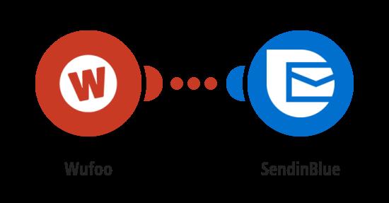 Send emails via SendinBlue for new Wufoo entries