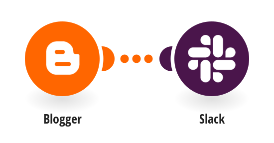 Send Slack messages for new Blogger posts