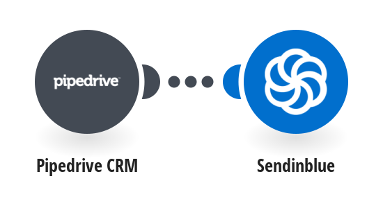 Add new Pipedrive CRM contacts as new contacts in SendinBlue