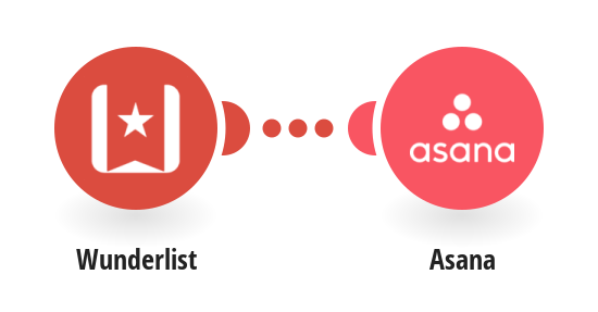 Add new Wunderlist tasks to Asana as tasks