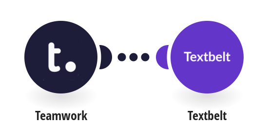 Send SMS messages via Textbelt for new Teamwork Projects tasks