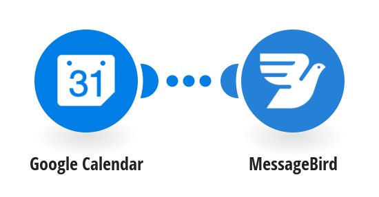 Send MessageBird SMS text messages for new Google Calendar events