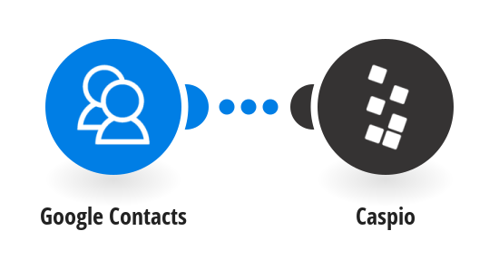 Add new Google contacts to a Caspio table as new rows