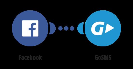 Zaslání zprávy přes GoSMS o tom, že je nová fotografie na Facebooku