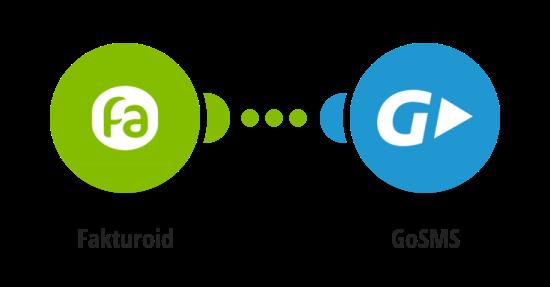 Zaslání zprávy přes GoSMS o nově uhrazené faktuře ve Fakturoidu