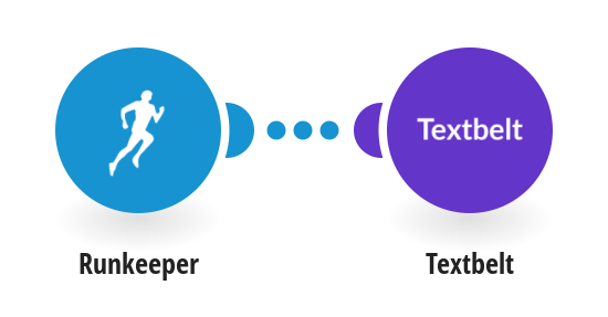 Send SMS messages via Texbelt for new Runkeeper activities
