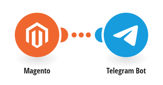Send Telegram messages for new Magento orders