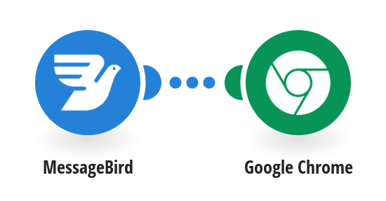 Send push notifications via Google Chrome for new MessageBird SMS messages