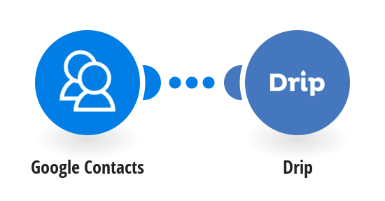 Add new Google Contacts to Drip as subscribers