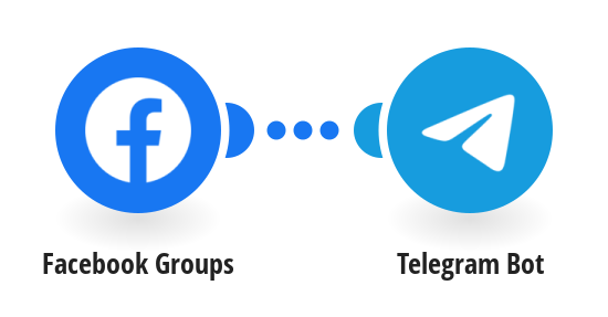 Send Telegram messages for new Facebook group posts