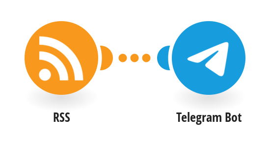 Send Telegram messages for new RSS feeds items