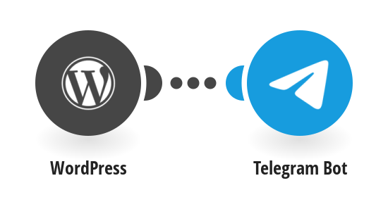 Send Telegram messages for new WordPress posts