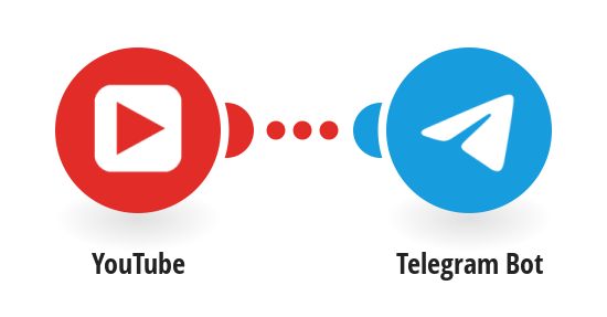 Send Telegram messages for new YouTube videos