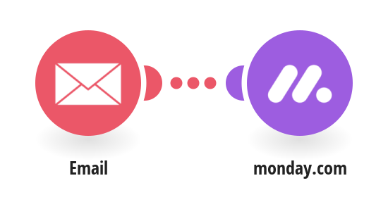 Create Monday.com pulses from new emails