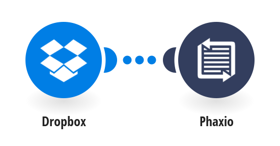 Fax new Dropbox files via Phaxio
