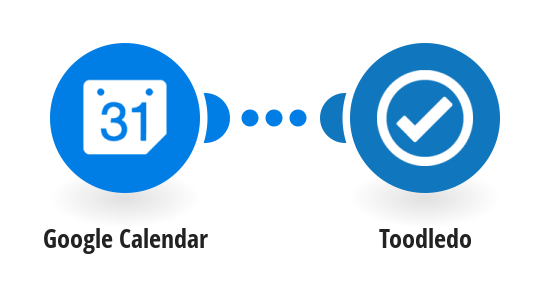 Add new Google Calendar events to Toodledo as tasks