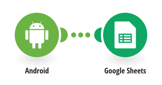 Record position changes of an Android device into a Google Sheets spreadsheet