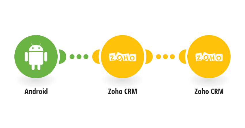 Create an object in Zoho CRM when you make a call from your Android device