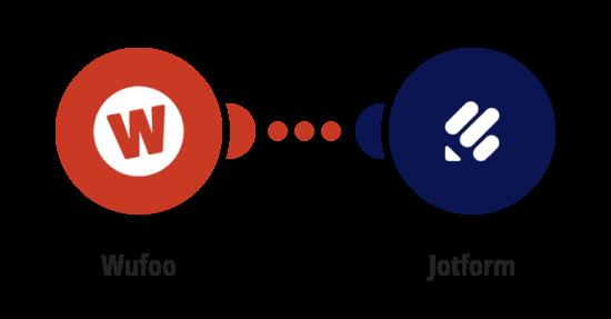Vytvoření formuláře v JotForm z nového formuláře ve Wufoo