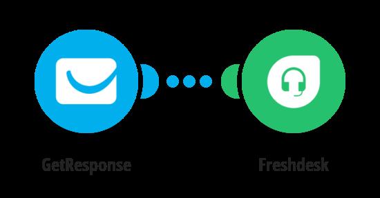Vytvoření kontaktu ve Freshdesku z nového kontaktu v GetResponse